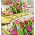 """Комплект постельного белья """"Тюльпан"""" Сатин (хлопок 100%)"""