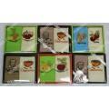 Набор Турецких вафельных полотенец (2шт. 45х65 см) с вышивкой в подарочной коробке (100 % хлопок) арт. 011