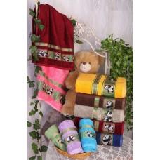 "Турецкое бамбуковое полотенце ""Бамбук панда медвежонок"""