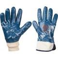 Перчатки нитриловые (манжет-крага, манжет-резинка)