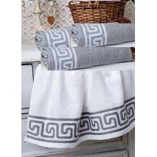 Махровое полотенце Орнамент Греции Китай (ду)