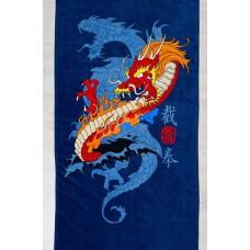 Махровое полотенце Драконы (ду)